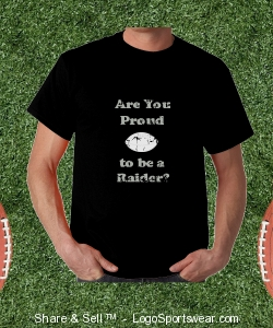 """Proud"" Tshirt Design Zoom"